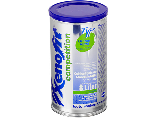 Xenofit Wedstrijddrank Blik 688g, Green Apple